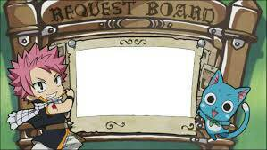 REQUEST BOARD