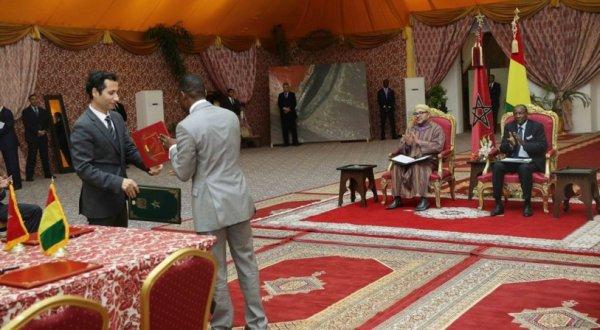 Guinée-Maroc :les bénéfices de la coopération.
