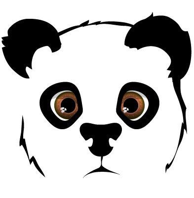 T te de panda dessin blog de lilou panda - Dessins de panda ...
