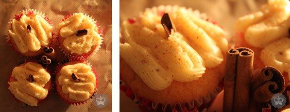 Cupcakes à la canelle