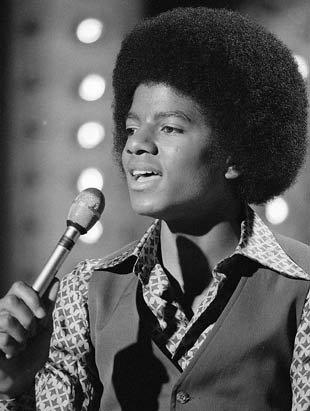 Michael dans les annèes 70