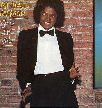 """En 1979,couverture de l'album """"off the wall"""""""