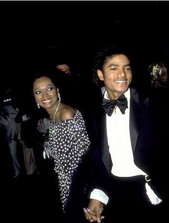 Michael et Diana Ross
