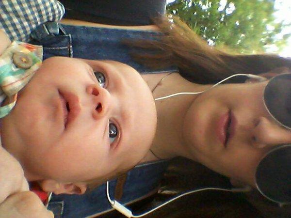 Ethan et ma maman