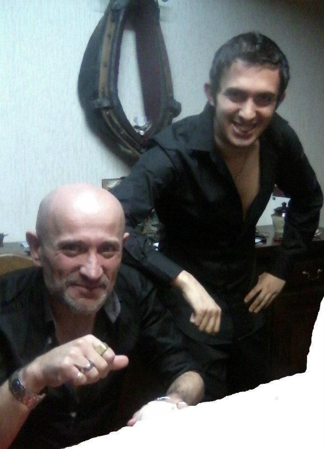 Moi et mon padré