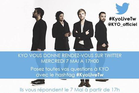 #KyoLiveTw C'est demain sur Twitter !