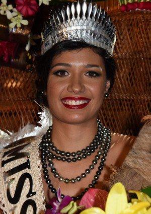 Miss Tahiti 2017