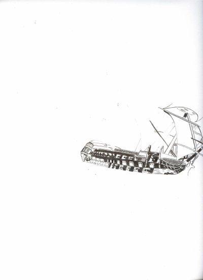 Certains de mes dessins ont une phase de réalisation, ça vous permet de bien regarder les détails (fait en 1 semaine-critérium 0,5 mm).