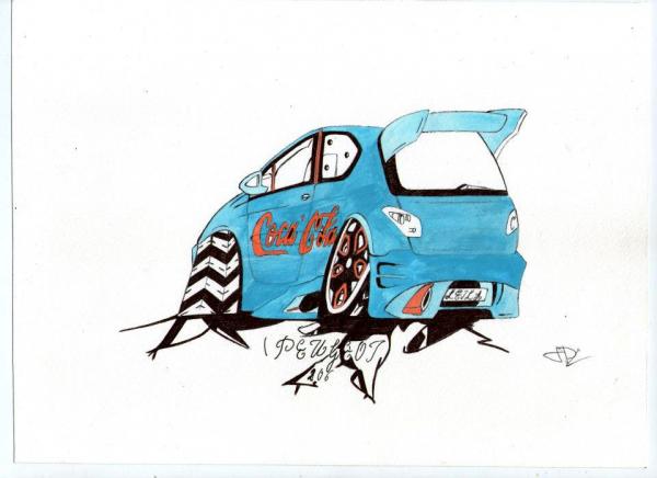 """Peugeot 206 """"Coca-Cola"""""""