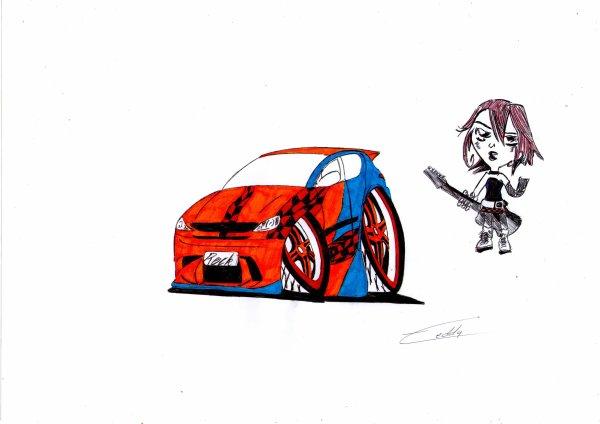 "Peugeot 206 ""Rock"""