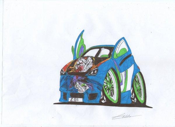"""Peugeot 206 """"Manga"""""""
