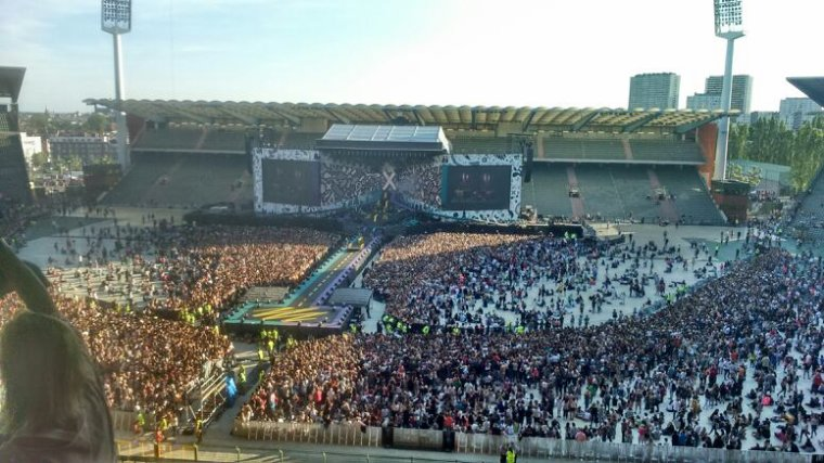 Concert One Direction 13-06-2015