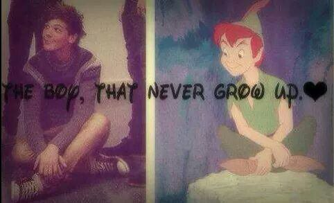 Louis notre Peter Pan