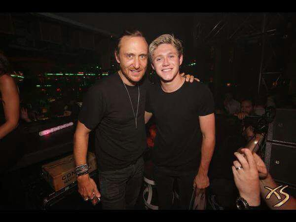 Niall et David Guetta