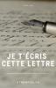 Je t'écris cette lettre (fanfic YunJae) - Prologue