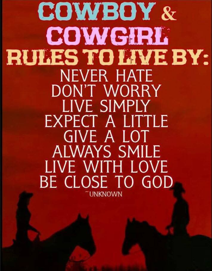 RULES TO LIVE