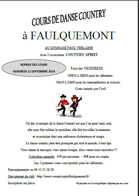 REPRISE DE LA COUNTRY A FAULQUEMONT