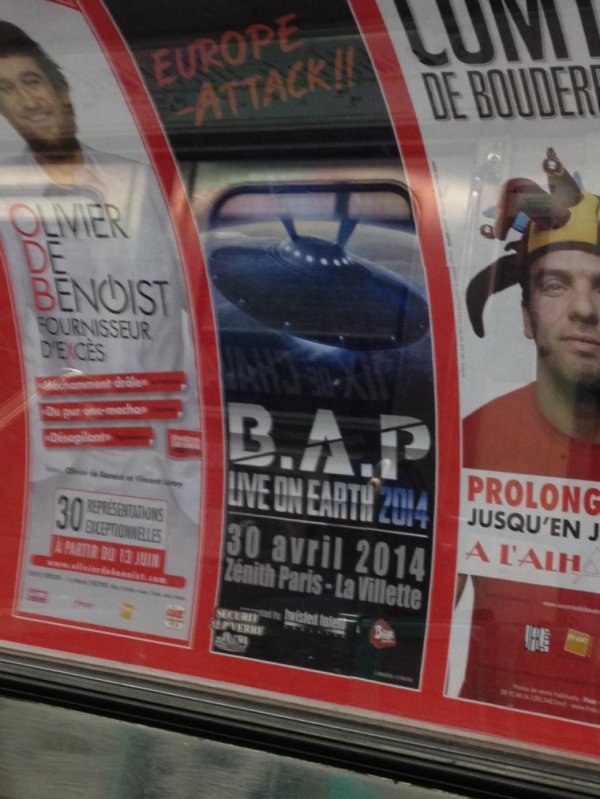 B.A.P ~ concert France