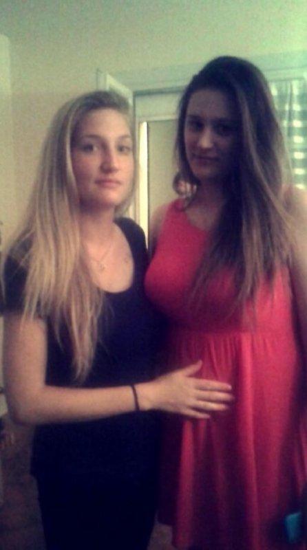 Moi et ma cousine ❤️