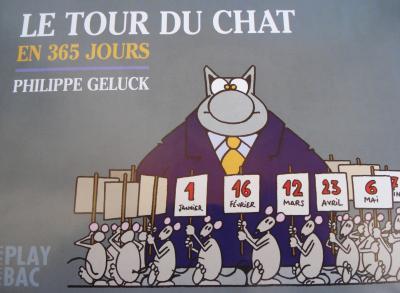 Le Chat Geluck Bureau : De le tour du chat geluck le tour du chat en jours