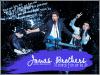 """__  www.Bros-Jonas.skyrock.com ~ Ta source d'actus quotidiennes sur les Jonas Brothers !__  Biographie rapide ; Le groupe est formé de trois membres. Paul Kevin Jonas II, né le 5 Novembre 1987 dans le New Jersey et marié depuis décembre 2009 à Danielle Deleasa. Joseph Adam Jonas, né le 15 Août 1989 dans l'Arizona. Et enfin Nicholas Jerry Jonas né le 16 Septembre 1992 au Texas. Le premier single du groupe """"mandy"""" est apparut en 2005, lançant alors la carrière d'un groupe extraordinaire, qui compte aujourd'hui quatre album à son actif. """"It's About Time"""" """"Jonas Brothers"""" """"A Little Bit Longer"""" et enfin """"Lines, Vines & Trying Times"""". En plus de la musiques les trois frères se sont lancés dans la comédie avec le phénomène """"Camp Rock""""  sans oublier la série """"JONAS"""" à l'effigie du groupe, diffusée sur Disney Channel."""