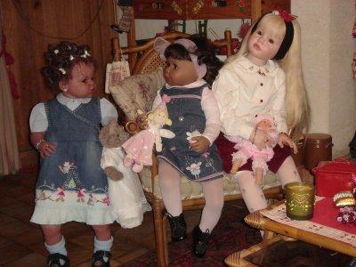 Alice, Maya et Sarah