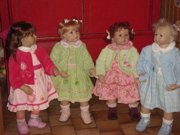 sophie, Juliette,Agathe et Charlotte