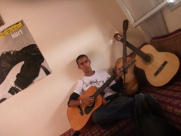 moi et mes guitars