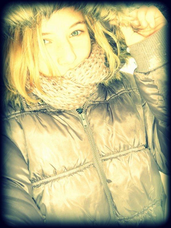 La neige, c'est beau, La neige C'est froid :3 ♥ ' Ahah Gros délire avec le cousin ♥ ''