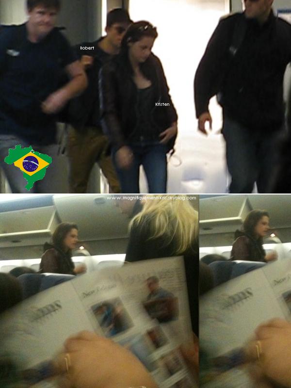 - Jeudi 04 Novembre : Robsten ont étaient vue allant au ... BRESIL.. plus précisement à Rio De Janeiro__Passionnant ...-