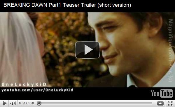 - Un(e) fan a réalisé un petit trailer de « Breaking Dawn » , personellement, je le trouve pas trop mal fait ... remember -