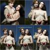- Shooting 2008 : Kris, Rob, Cam, Taylor & Rachel posant pour Entrainment Weekly. Mmh. c'est pas beau.. -