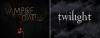 - The Vampire Diaries?____________________________The Twilight Saga? -   Deux saga à succés interplanetaire. Deux histoires semblable. Deux personnes courants  après la seule nana valable. Deux amours impossible. Des méchants à vus d'oeil. Deux héros aux corps de rêves. Une belle fille auqu'elle ont a toutes envis de ressembler. A chaque épisode ou partie, une seule envie.. conaitre la suite.. -   Elena Gilbert____________________________________Isabella Swan.   Stelena________________________________________________Edwarla.   Stefen Salvadore_________________________________Edward  Cullen.   Damon Salvatore______________l_____________________Jacob Black. -