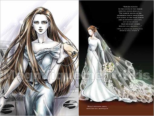 -  Exclu sur M-Kris : Voici la robe imaginé par Stéphenie Meyer.. l__Elle vous plaît? J'aime ♥ -