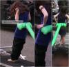 -  18.04.11 : Je ne sais pas de quand datent les photos ; Kris sur le set de Breaking Dwan en mode Bella Swan.  Aller, avouez qu'elle est belle sa serpillère brune qu'elle a sur la tête.. Sa donne cet air si.. naturel, si.. doux & soyeux..  -
