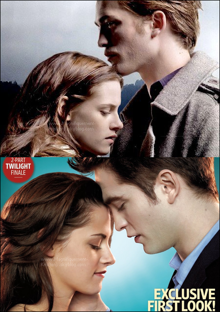 -   Alors. Isabella Swan & Edward Cullen dans Twilight ou bien Breaking Dawn? -