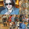 -  01.12.08 : Nikki R. & Kristen s'arrêtant dans une épicerie pour faire quelques courses. Aïe les lunettes à Kris.. qu'est-ce qu'elles sont moches, courageuse de porter ça, elles me font peur. hideuses!  -
