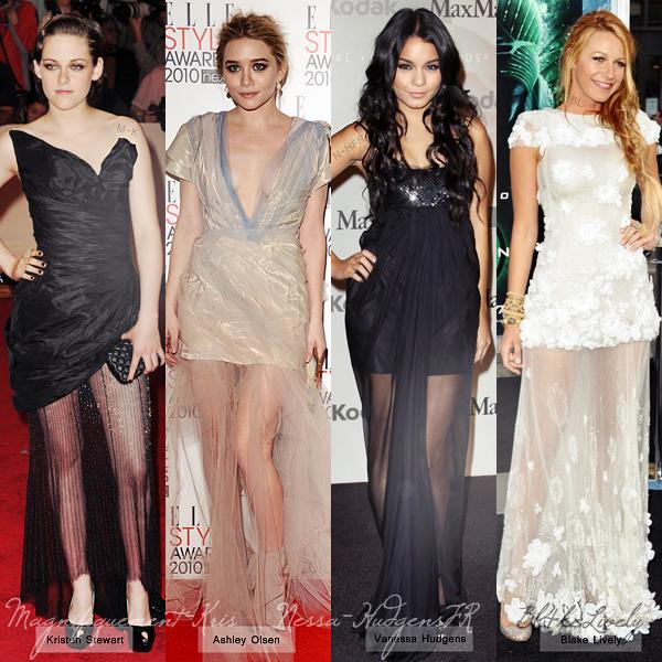 Qui porte le mieux la robe semi Transparente? (On parle bien de la robe & non pas la tête du client).