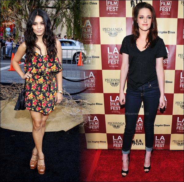 Pour toi,qui de  Vanessa Hudgens ou Kristen Stewart, à une tenue approprié pour ce rendre à un événement?
