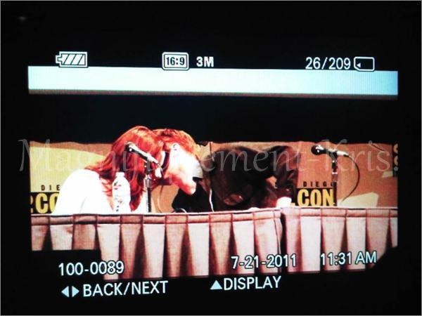 21.07.11 : Kristen & Cie était présent au Comic Con se San Diego pour la présentation de Breaking Dawn. [/align.]