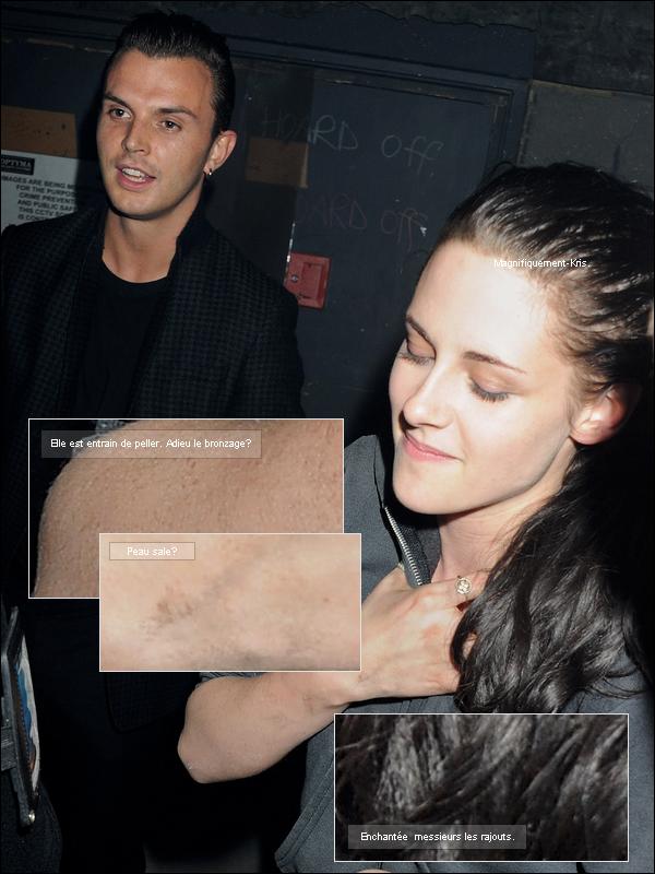 31.08.2011 : Kristen Stewart était hier au « Playstation event » à Londres, Angleterre. [/align.]