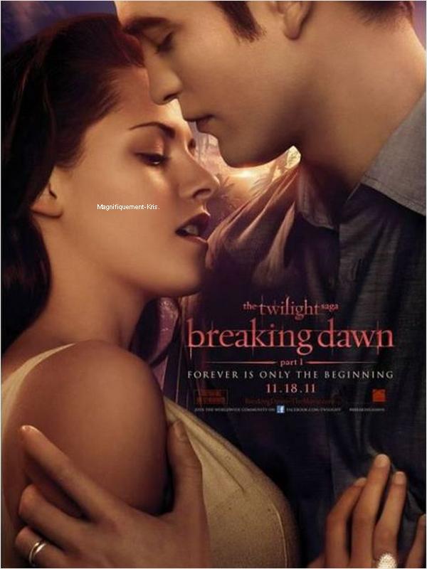 Nouveaux stills de Breaking Dawn. Avouuuuuuez ils nous font rêver ces deux là. Boooouh! [/align.]