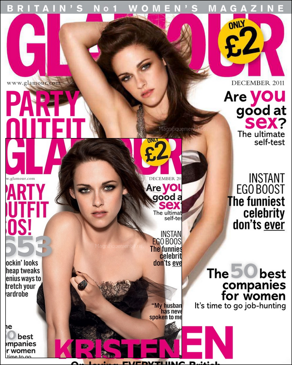 Kristen posant pour 'Glamour' UK. Mais en quoi ce shooting ressemble à   Kristen Stewart? Si vous voulez mon avis. Je le trouve pas spécialement beau ce shoot. Il n'est pas à l'image de Kristen Stew.
