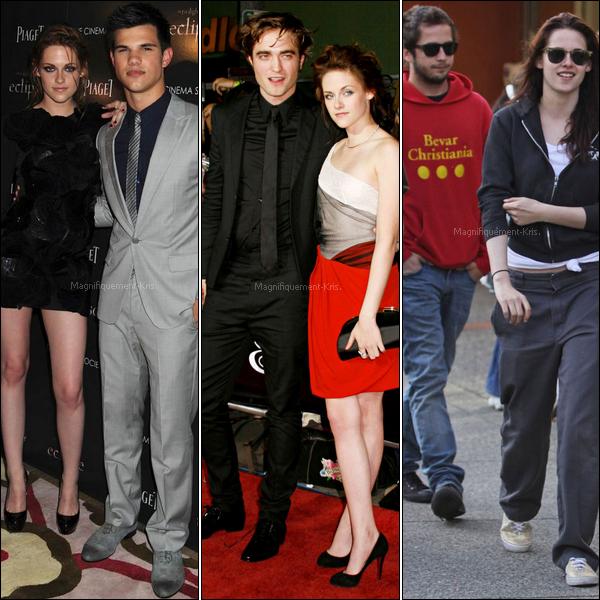 A vous de jugez -  Kristen est quelqu'un de bien entouré, mais comme partout, il y a des profiteurs/ses.