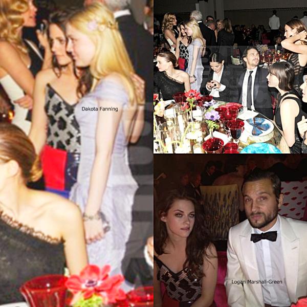Lundi 07 mai : Kristen Stewart  tel un clown était présente comme prévue au MET Gala dans New York. Prenez pas la bête, c'est pour plaisanter, Kris est très jolie dans sa tenue, même si je trouve que plus tu es à la mode, plus tu as l'air quand même ridicule... C'est spécial, faut aimer après, moi, sans en plus mais jolie !!