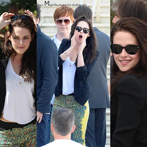 Photocall.    Mercredi 23 mai : Sous l'beau soleil de C. Le cast d'OTR s'est pavané sous les flashs des photographes.