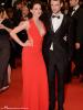 Avant-première.  Vendredi 23 mai : Kristen et Tom S. (BFF de Rob) se sont rendu à la première de leur chouchou Robert à Cannes.
