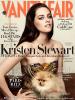 """Shooting + Première de couverture.  KStew posant et faisant la première du célèbre magasine """"Vanity Fair"""" de juillet."""