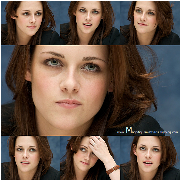 Kristen Stewart réalisait un photocall pour la promotion d'Aventureland en 2009.