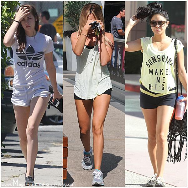 ON COMPARE  D'après vous, laquelle de ces 3 magnifiques célébrités est digne de porter un short aussi court?